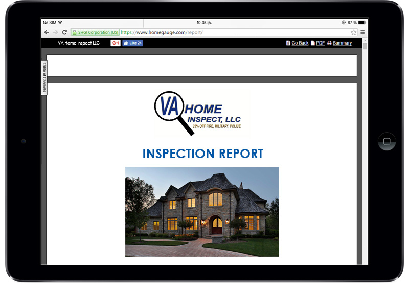 Virginia Fairfax Home Inspections Home Gauge
